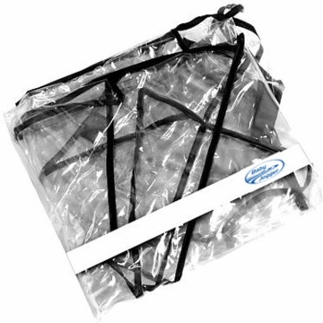 Baby Jogger City Micro Single Rain Canopy - PVC Free