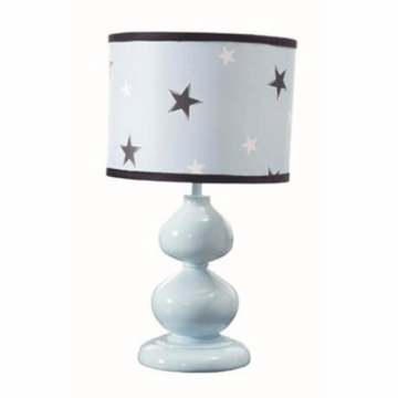 Lambs & Ivy Rock N' Roll Lamp with Shade