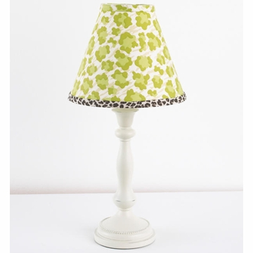 Cotton Tale N. Selby Here Kitty Kitty Lamp & Shade