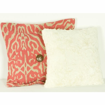 Cotton Tale N. Selby Raspberry Dot Pillow Pack