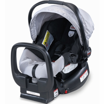Britax Chaperone Infant Car Seat in Black/Silver