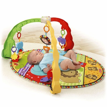 Fisher Price Luv U Zoo Musical Mirror Activity Gym