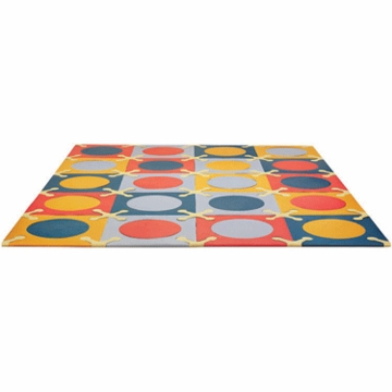 Skip Hop Playspot Interlocking Foam Tiles in Brights