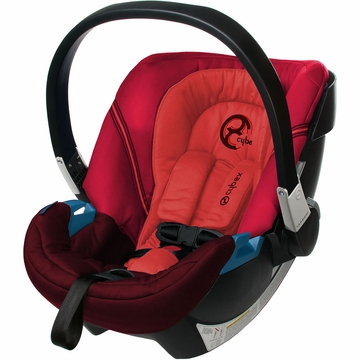 Cybex Aton 2 Infant Car Seat - Poppy Red