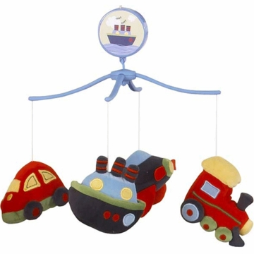 Bedtime Originals Travel Time Musical Mobile