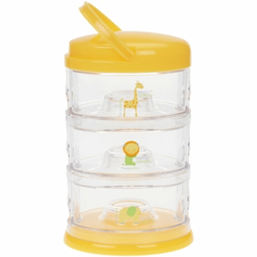 Innobaby Packin' SMART Three Tier Zoo Animal Series in Mango Sorbet