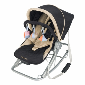 Maclaren Infant Rocker - Black / Champagne