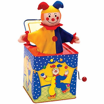 Schylling Jack-in-the-Box - Jester