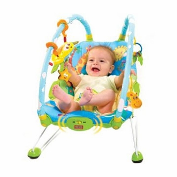 Tiny Love Gymini Bouncer, Blue/Yellow, 0-12 Months