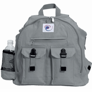 Ergo Baby Back Pack Diaper Bag in Galaxy Grey