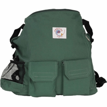 ERGO Baby Back Pack Organic Forest Green
