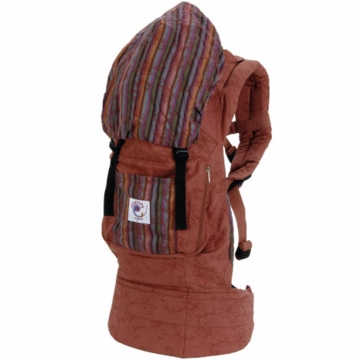 ERGO Baby Carrier Organic Sienna Sunset / Stripe