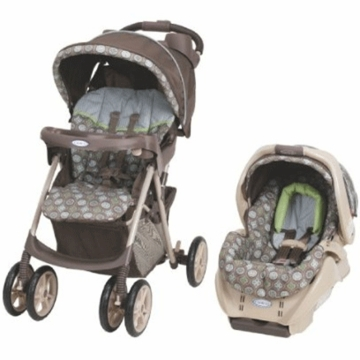 Graco Spree Travel System Barcelona Bluegrass