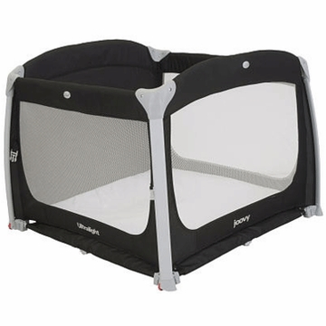 Joovy Room2 Ultralight Playard in Black