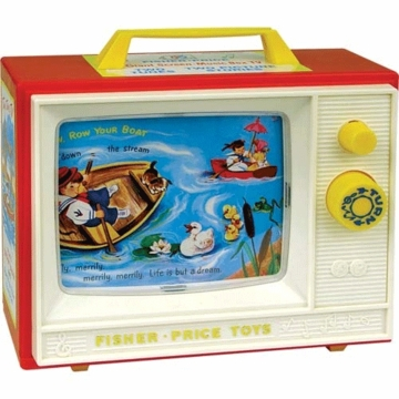 Fisher Price Retro Two Tune Television