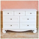 Bratt D�cor Chelsea Collection Dresser - White