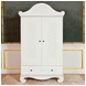 Bratt D�cor Chelsea Collection Armoire - White