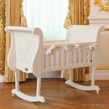 Bratt D�cor Chelsea Collection Cradle - White