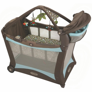 Graco Pack 'n Play Modern Playard with Toy Gym in Shout
