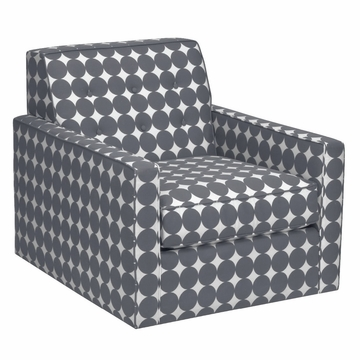 DwellStudio Thompson Glider - Dotscape Charcoal