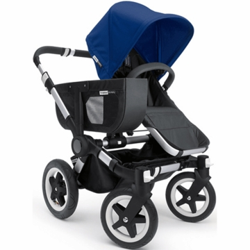 Bugaboo Donkey Mono Stroller in Black/Royal Blue