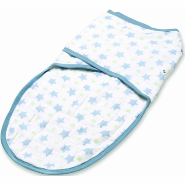 Aden + Anais Easy Swaddle - Prince Charming, Bigger Star (S/M)