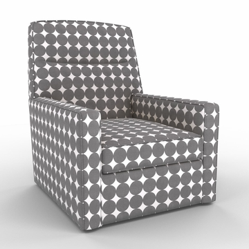 DwellStudio Oxford Glider - Dotscape Charcoal