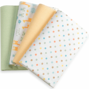 Carter's Receiving Blankets Set of 4- Noah