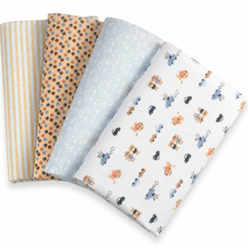 Carter's Receiving Blankets Set of 4- Lion