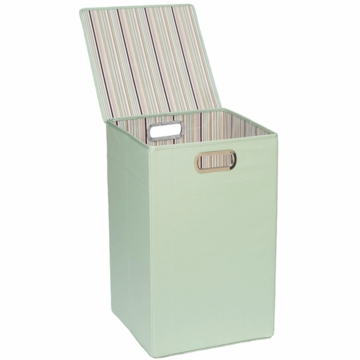 JJ Cole Hamper - Green Stripe
