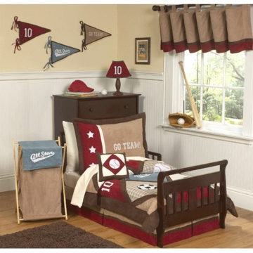 Sweet JoJo Designs All Star Sport 5 Piece Toddler Bedding Set