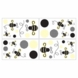 Sweet JoJo Designs Bumble Bee Wall Decals