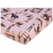 Sweet JoJo Designs Cowgirl Crib Sheet in Cowgirl Horse Print