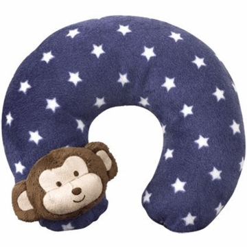CoCaLo Baby Monkey Mania Plush Neck Roll
