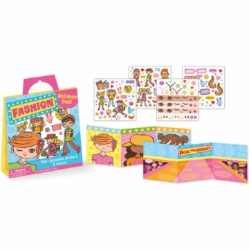 Peaceable Kingdom Fashion Sticker Pack