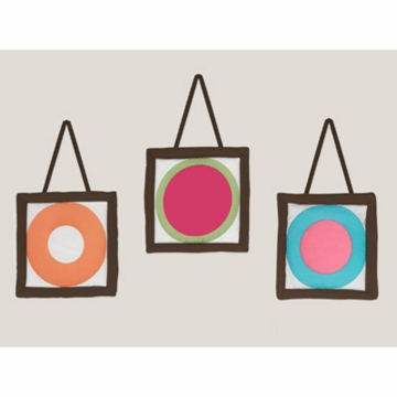 Sweet JoJo Designs Deco Dot Wall Hangings