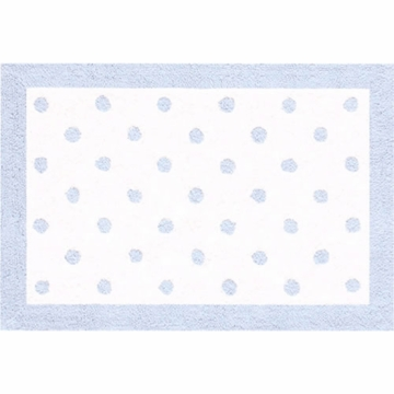 Rug Market Polka Dots in Light Blue