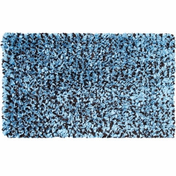 Rug Market Shaggy Raggy in Blue/Brown