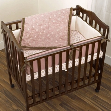 CoCalo Baby Daniella 3 Piece Porta Crib Bedding Set