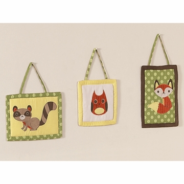 Sweet JoJo Designs Forest Friends Wall Hanging