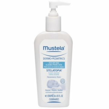 Mustela Stelatopia Cream Cleanser