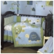 CoCaLo Turtle Reef 8 Piece Baby Crib Bedding Set