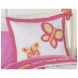 Sweet JoJo Designs Pink & Orange Butterfly Pillow Sham