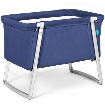 BabyHome Dream Baby Crib - Navy