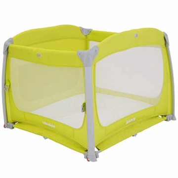 Joovy Room2 Ultralight Playard in Greenie