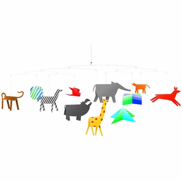 Djeco Animals Mobile
