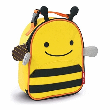 Skip Hop Lunchies Insulated Lunch Bag - Bee