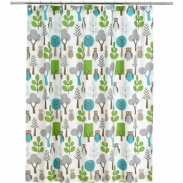 DwellStudio Owls Sky Shower Curtain