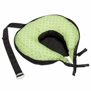 Boppy Travel Pillow - Mama Dot Basket Green