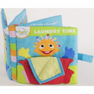 Eebee's Laundry Time Adventure Deluxe Cloth Book